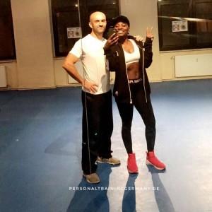 Neujahrstraining mit Nikeata Thompson