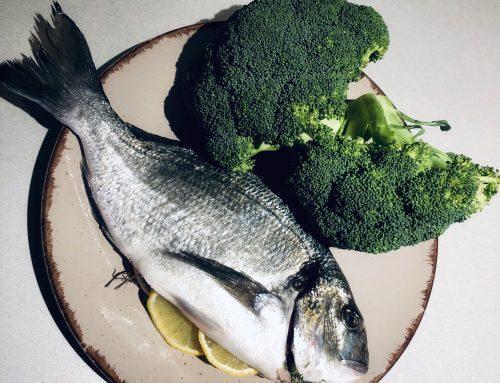 Frische Dorade mit Brokkoli