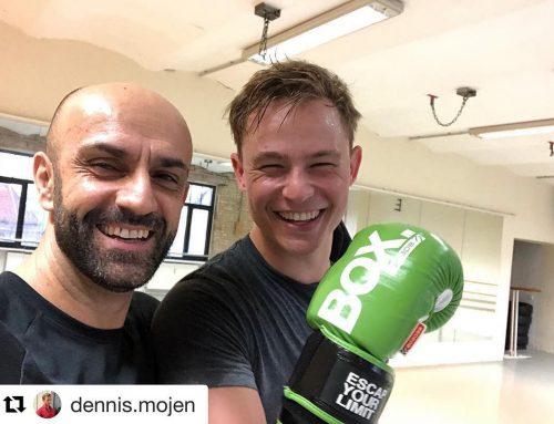 """Personal Training mit Dennis Mojen für """"Netflix – Isi & Ossi"""""""