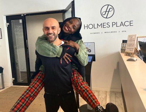 PT mit Nikeata Thompson im Holmes Place